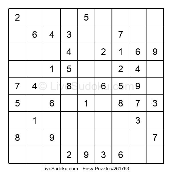 Beginners Puzzle #261763