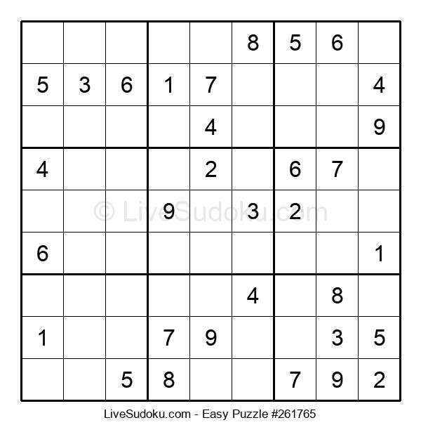 Beginners Puzzle #261765