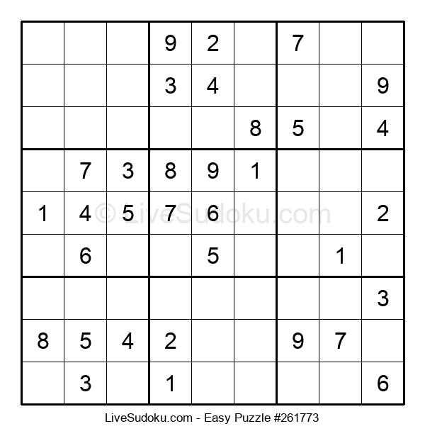 Beginners Puzzle #261773
