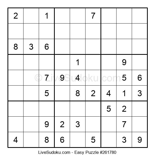 Beginners Puzzle #261780