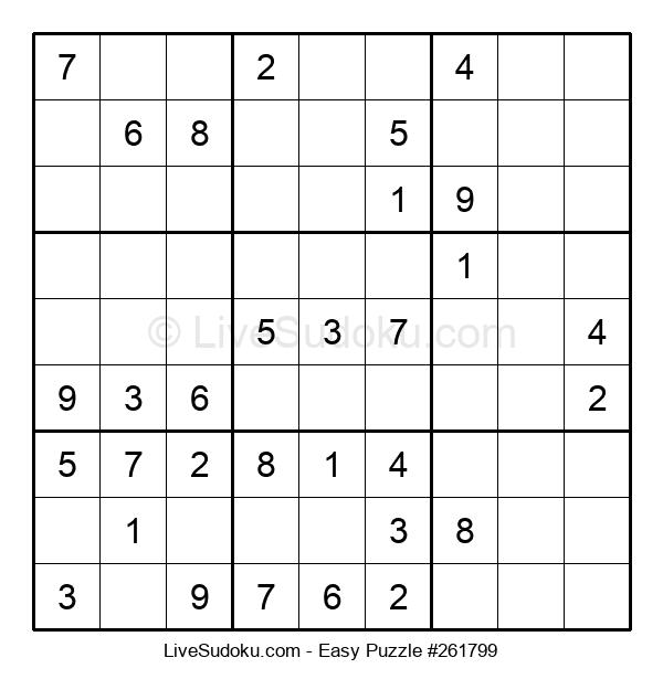 Beginners Puzzle #261799