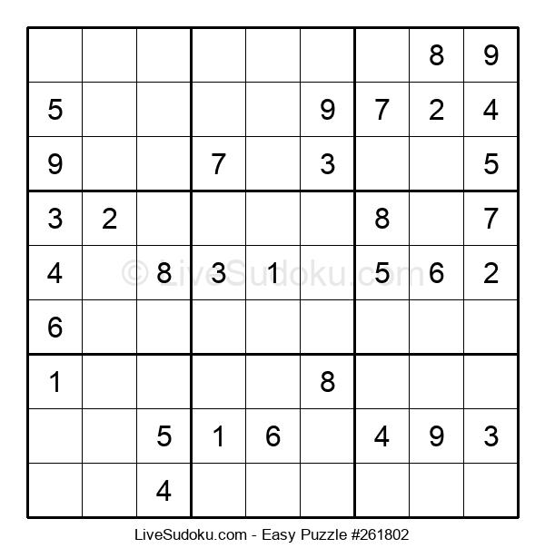 Beginners Puzzle #261802