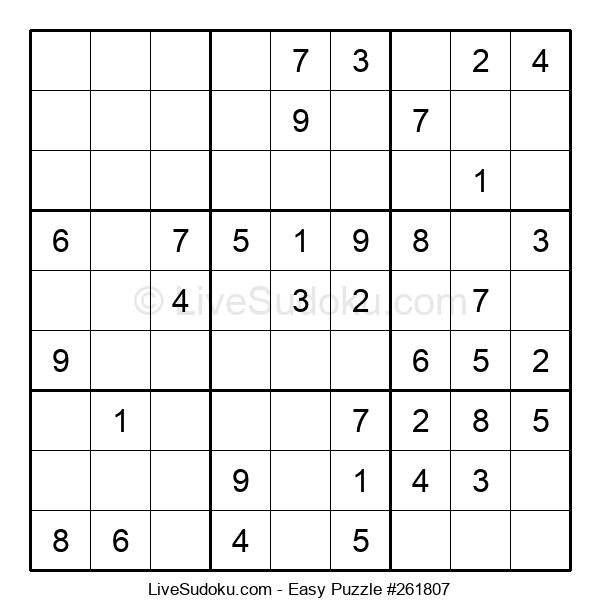 Beginners Puzzle #261807