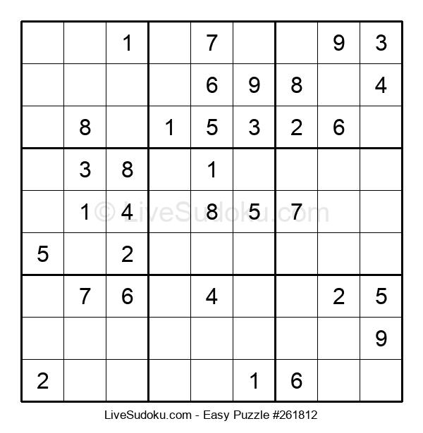 Beginners Puzzle #261812