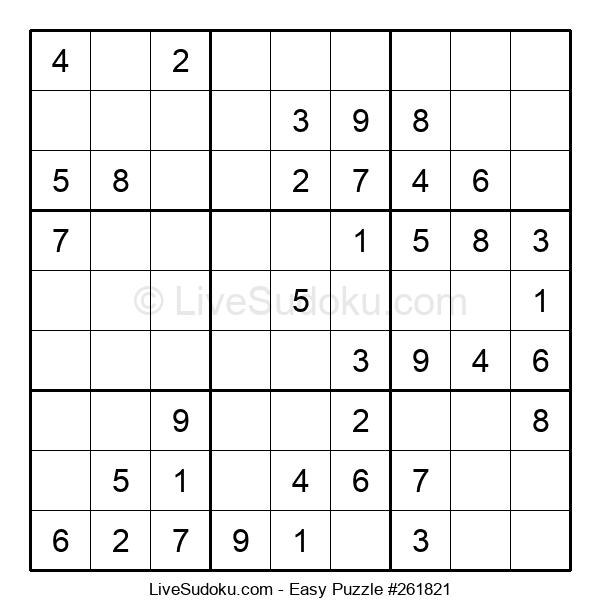 Beginners Puzzle #261821