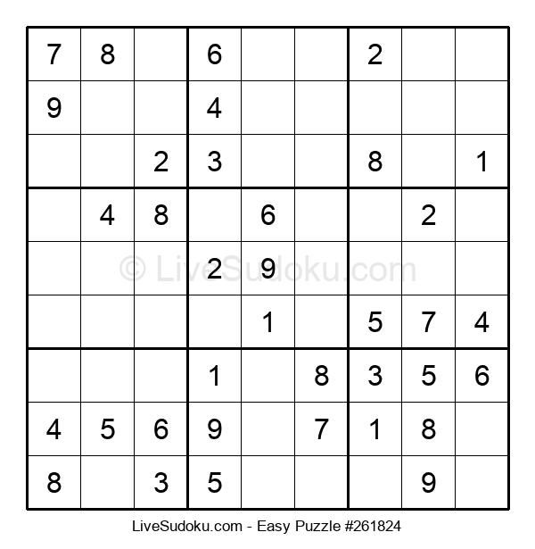 Beginners Puzzle #261824