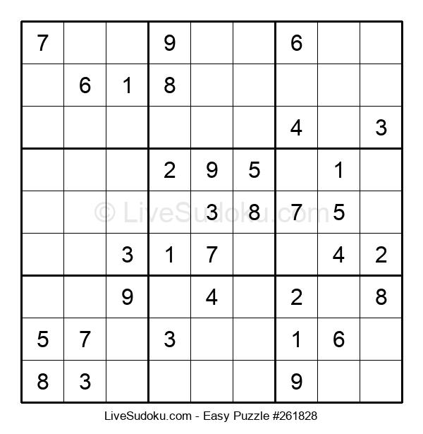 Beginners Puzzle #261828