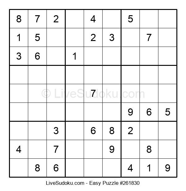 Beginners Puzzle #261830
