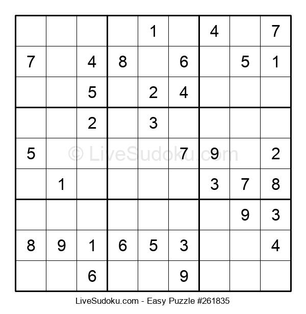 Beginners Puzzle #261835