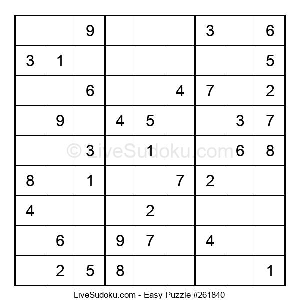 Beginners Puzzle #261840