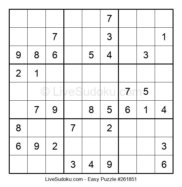 Beginners Puzzle #261851