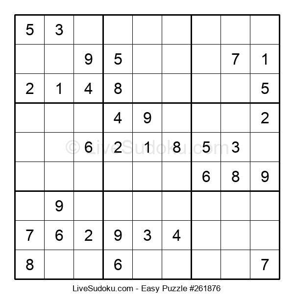 Beginners Puzzle #261876