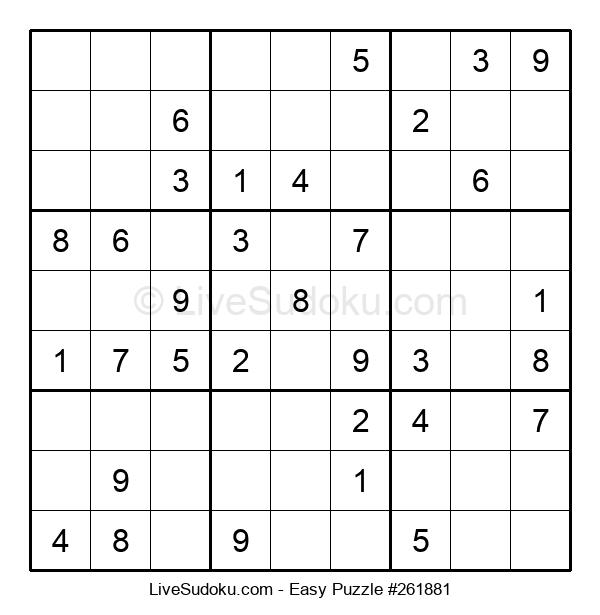 Beginners Puzzle #261881