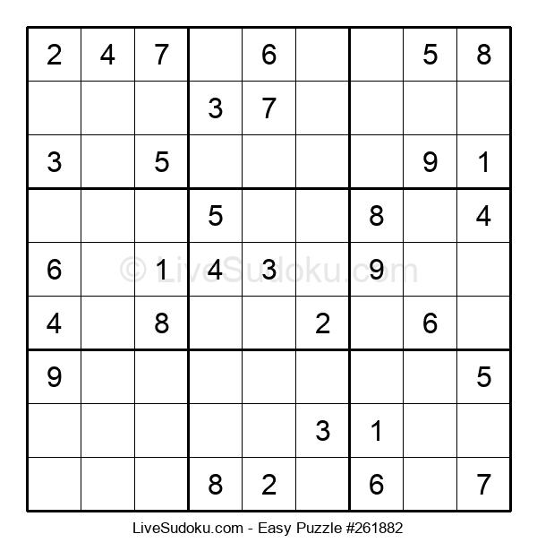 Beginners Puzzle #261882