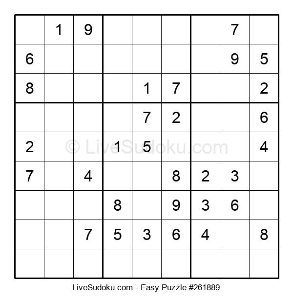 Beginners Puzzle #261889