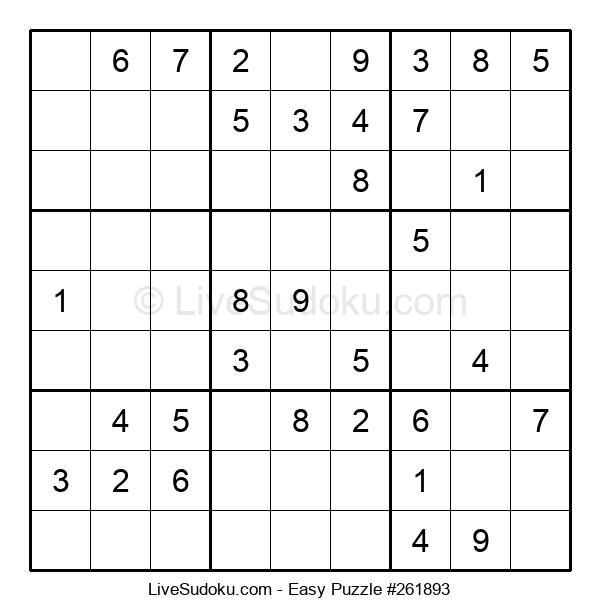 Beginners Puzzle #261893