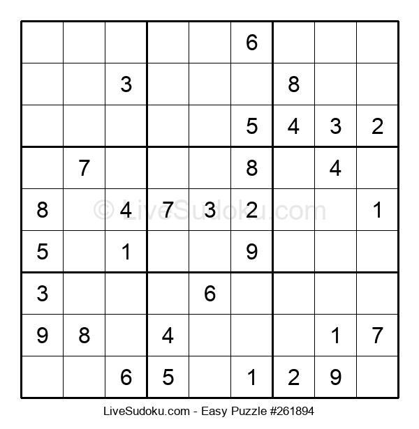 Beginners Puzzle #261894
