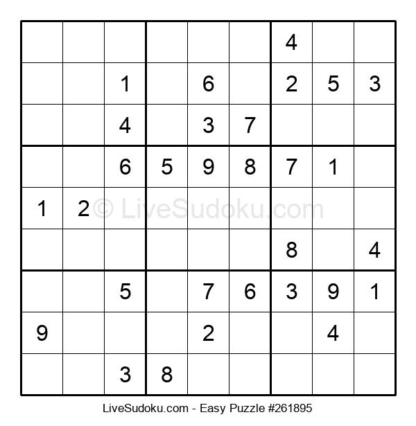 Beginners Puzzle #261895