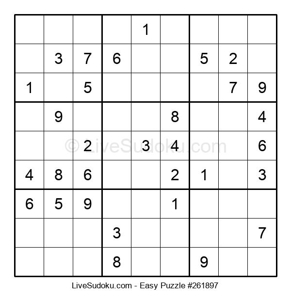Beginners Puzzle #261897