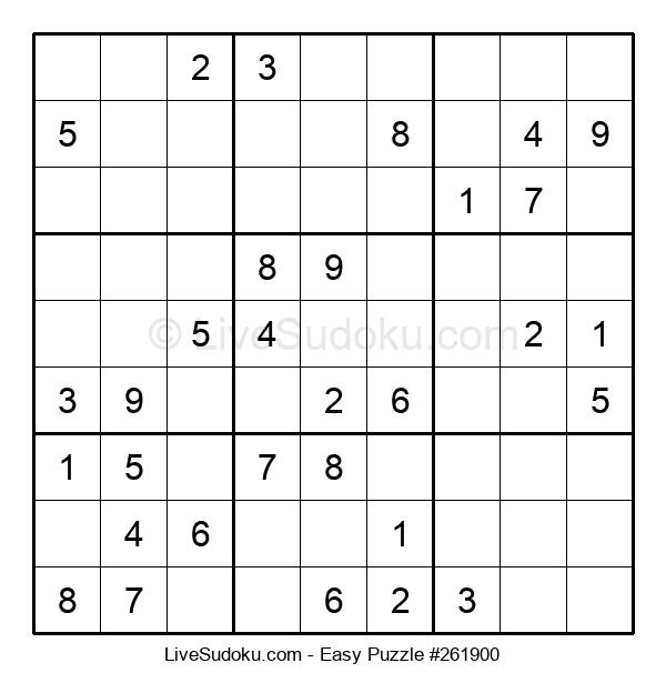 Beginners Puzzle #261900