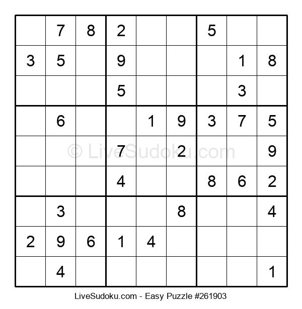 Beginners Puzzle #261903