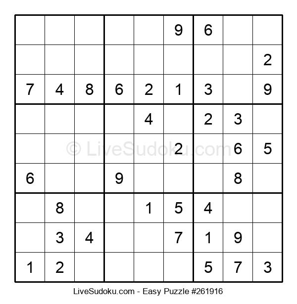 Beginners Puzzle #261916