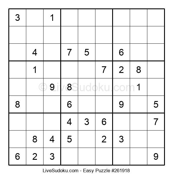 Beginners Puzzle #261918