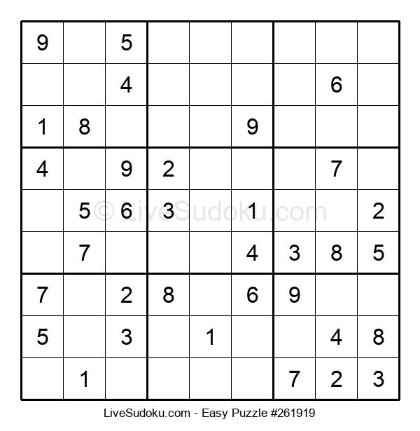 Beginners Puzzle #261919