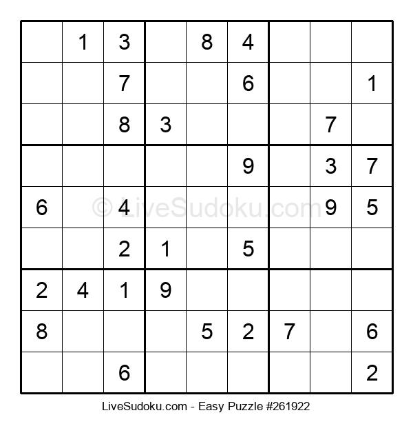 Beginners Puzzle #261922
