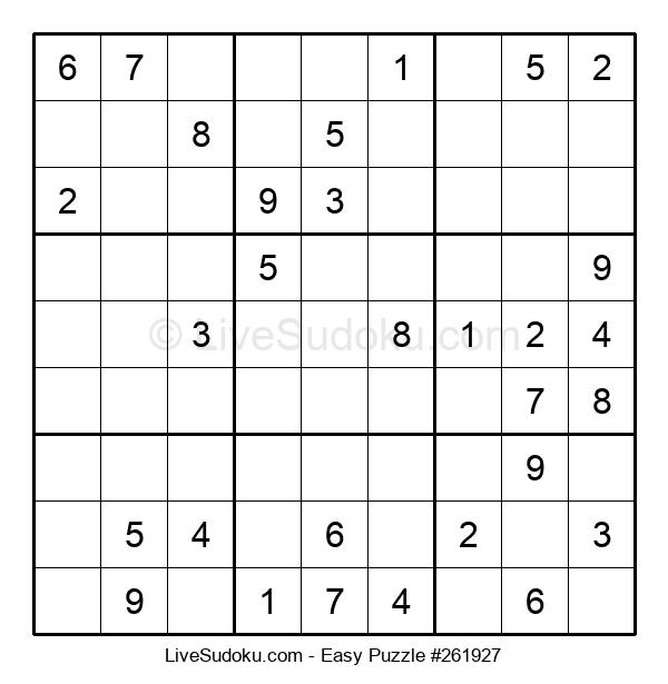 Beginners Puzzle #261927