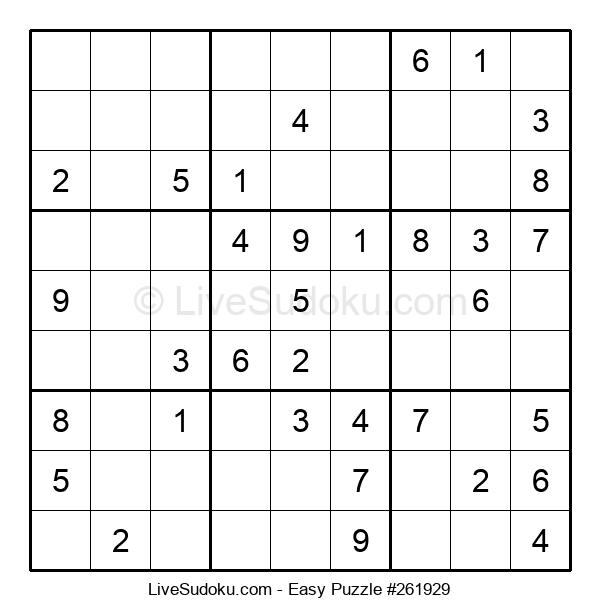 Beginners Puzzle #261929