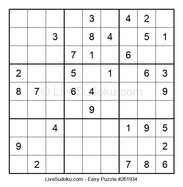 Beginners Puzzle #261934