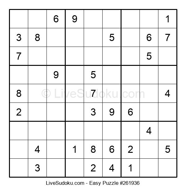 Beginners Puzzle #261936