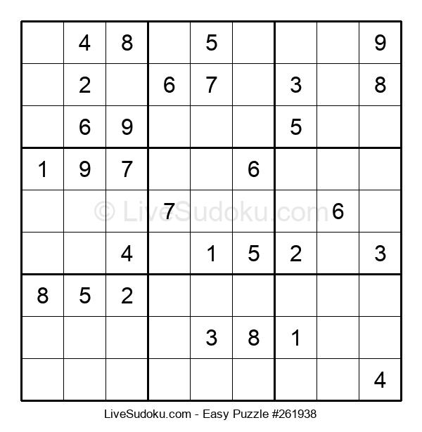 Beginners Puzzle #261938