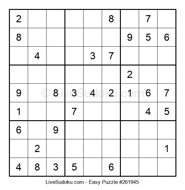 Beginners Puzzle #261945