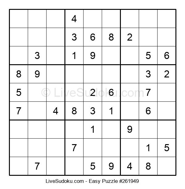 Beginners Puzzle #261949