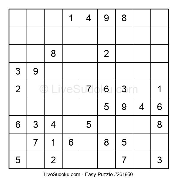Beginners Puzzle #261950