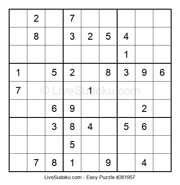 Beginners Puzzle #261957