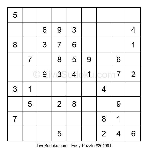 Beginners Puzzle #261991