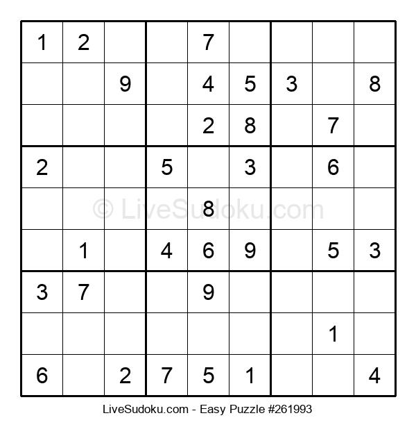Beginners Puzzle #261993
