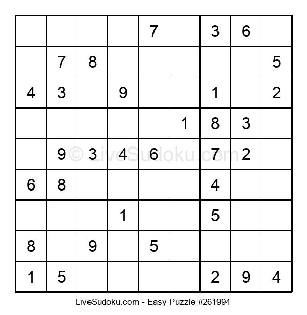 Beginners Puzzle #261994