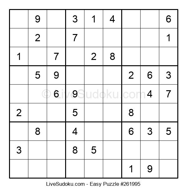 Beginners Puzzle #261995