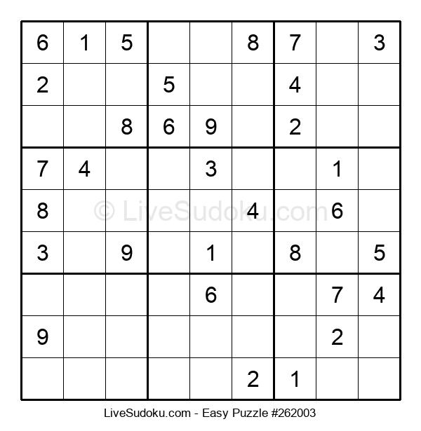 Beginners Puzzle #262003