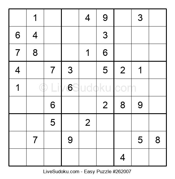 Beginners Puzzle #262007