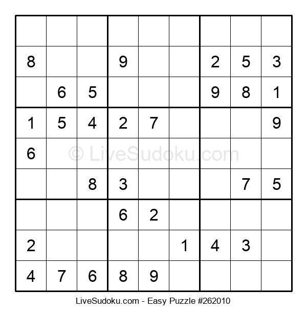Beginners Puzzle #262010