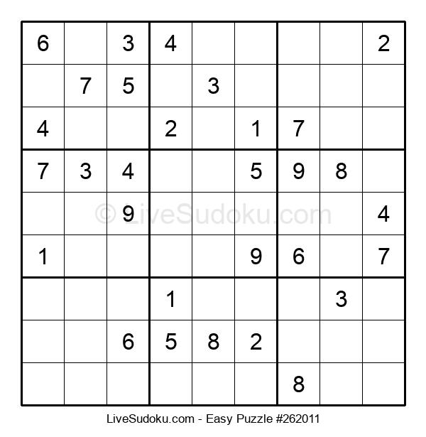 Beginners Puzzle #262011