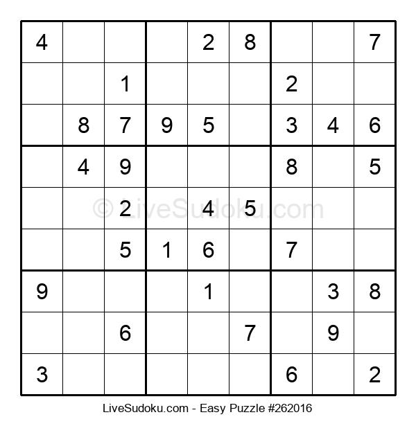 Beginners Puzzle #262016