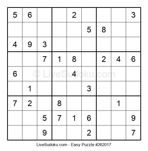 Beginners Puzzle #262017