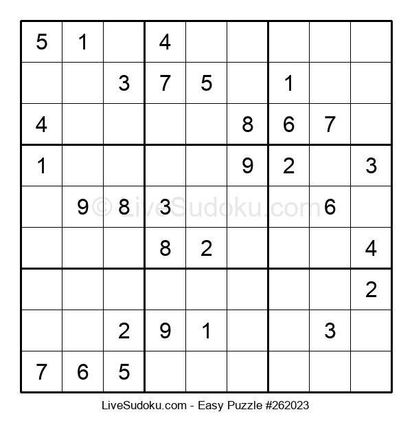 Beginners Puzzle #262023