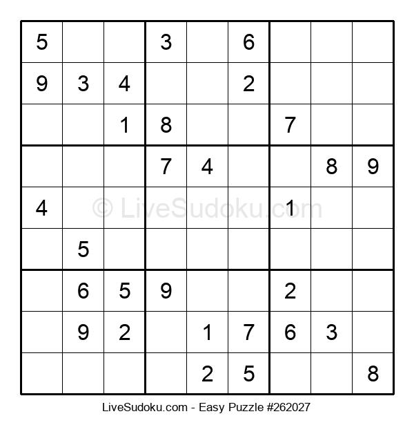 Beginners Puzzle #262027